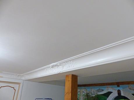 La pl trerie for Fond plafond platre